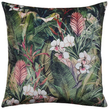 Tropicana Velvet Reversible Cushion