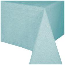 Aqua Jetty Cotton Tablecloth