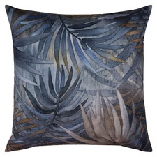 Blue  Jordan Reversible Square Velvet Cushion