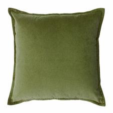 Mira Square Velvet Cushion