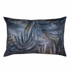Blue Jordan Reversible Rectangular Velvet Cushion