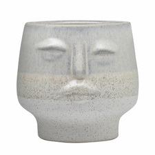 Airlie Face Ceramic Ornament