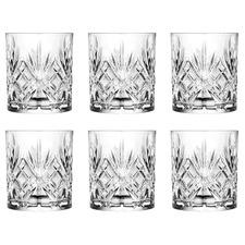 Melodia 240ml Glass Tumblers (Set of 6)