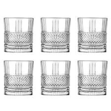 Brillante 337ml Glass DOF Tumblers (Set of 6)