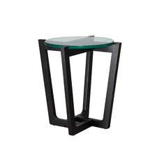 Monterey Black Leg Side Table