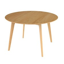 Oslo Round Oak Dining Table
