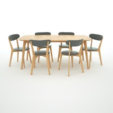 Oslo Large 7 Pce Dining Set
