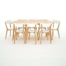 Oslo 9 pce Dining Set
