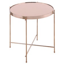 Rose Gold Prague Side Table
