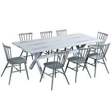 Xen Aluminium Outdoor 8 Seater Dining Set