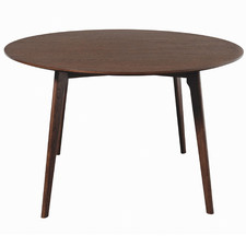 Walnut Oslo Round Dining Table