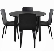 4 Seater Kiev Round Dining Set