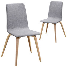Regal Upholstered Dining Chairs (Set of 2)
