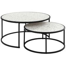 2 Piece Venezia Nesting Coffee Tables Set