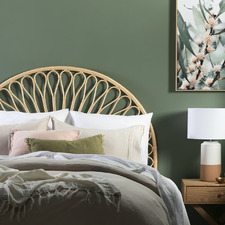 Layla Queen Rattan Headboard