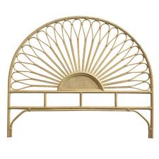 Layla King Rattan Headboard