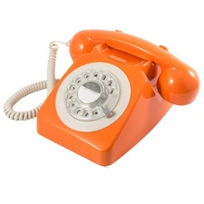 Traditional Rotary Dialling Telephone