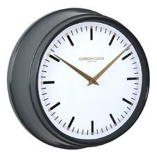 37cm Hatton Metal Wall Clock