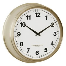 37cm Coach Gold Wall Clock