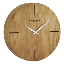 Eldo Solid Wood Wall Clock