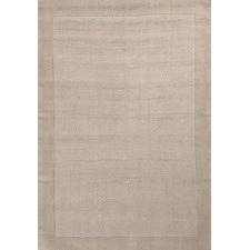 Luxor Wool Bone Contemporary Rug