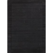 Luxor Wool Charcoal Contemporary Rug