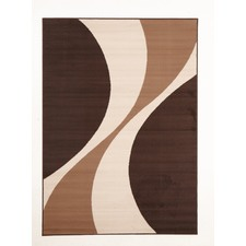 Viva Modern Beige / Cream Contemporary Rug