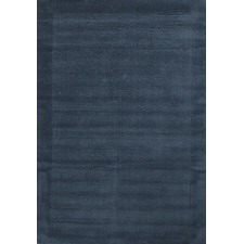 Luxor Wool Petrol Contemporary Rug