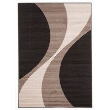 Viva Modern Charcoal / Grey Contemporary Rug