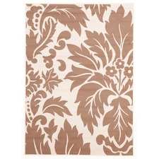 Viva Modern Cream Contemporary Rug