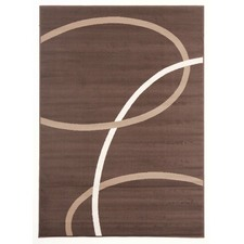 Viva Modern Brown / Beige / Cream Contemporary Rug