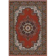 Viva Aubusson Red Oriental Rug