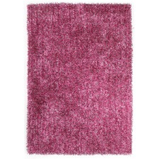 Fusion Berry Shag Tufted Rug