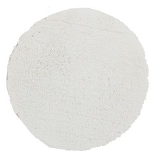 Twilight White Round Shag Rug