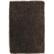 Brown Shag Tufted Rug