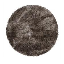 Deluxe Shag Granite Round Rug