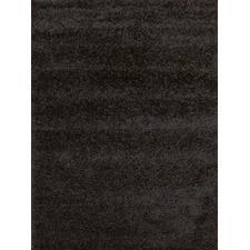 Piccolo Plain Black Shag Rug