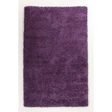 Ultra Thick Violet Shag Rug
