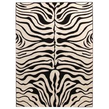 Stunning Zebra Pattern Rug