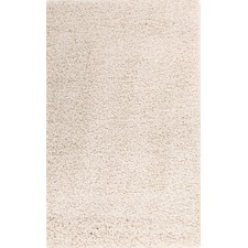 Ultra Thick Cream Shag Rug