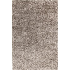 Ultra Thick Warm Grey Shag Rug