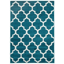 Nischel Moroccan Tile Indoor Outdoor Rug