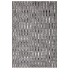 Black Diamond Modern Flatweave Rug