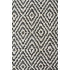 Diamond Design Modern Flatweave Rug