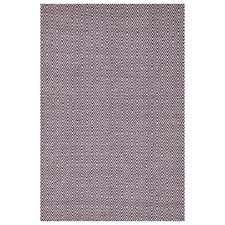 Purple Diamond Modern Flatweave Rug