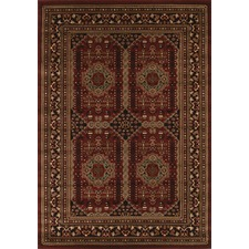 Traditional Afghan Design Rug
