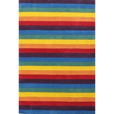 Beautiful Striped Kids Rugs