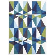 Crystal Design Blue/Green Rug