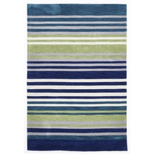 Abrash Blue/Green Rug