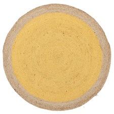 Jute Natural Yellow Rug
